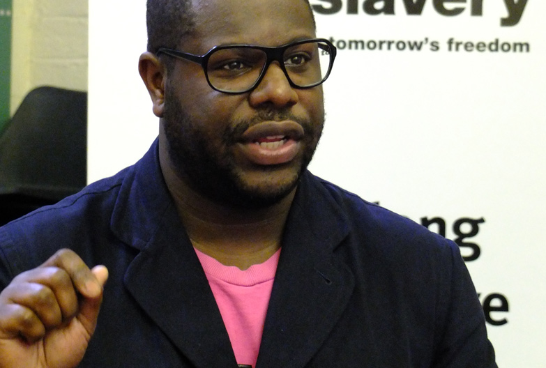 Oscar winning director Steve McQueen, Anti-Slavery International's patron