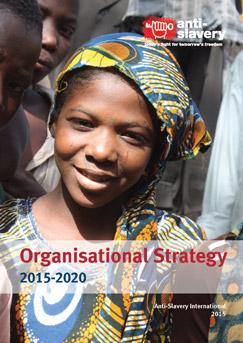 Anti-Slavery International strategy