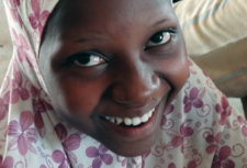 Girl of slave descent in Niger in our of our community schools