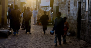 photo of begging talibes on Senegal's streets