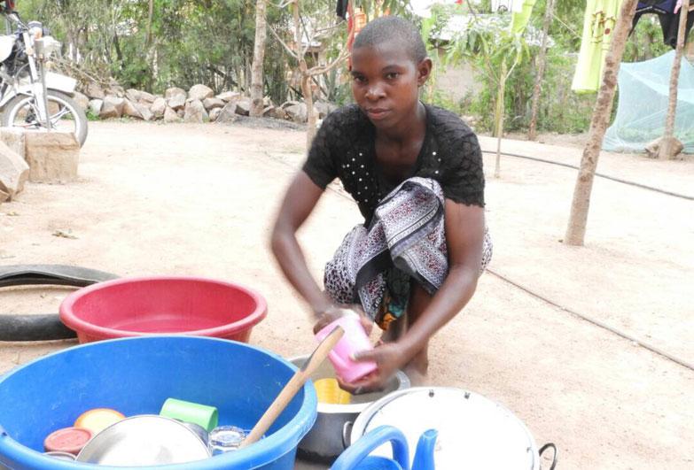 Child domestic workers Tanzania Catherine