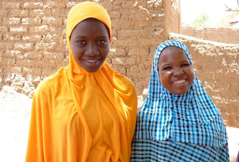 Niger girls affected by slavery