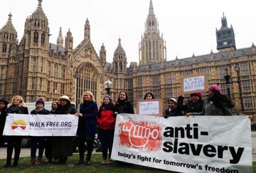 Domestic workers protest in Westminster