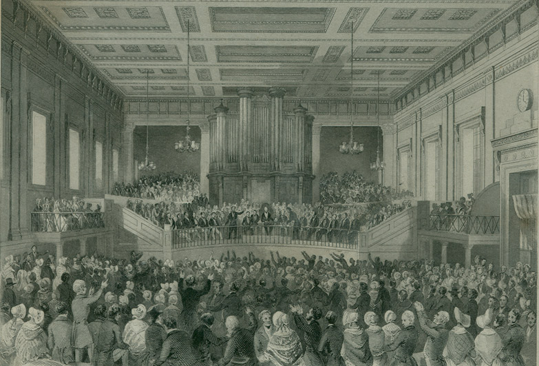 1841 - first international slavery conference