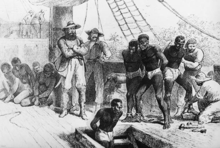 slaves of the middle passage