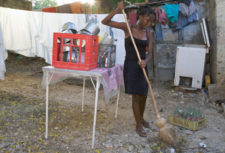 Young domestic worker in Tanzania