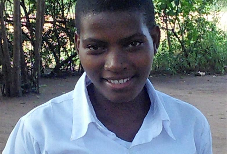 Minjiza, former child domestic worker in Tanzania