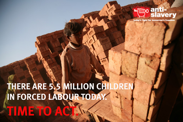 poster of child in forced labour