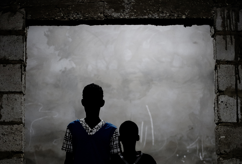 Boys who grew up in slavery in Mauritania