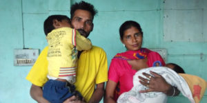pooja and her family, woman worker in brick kiln