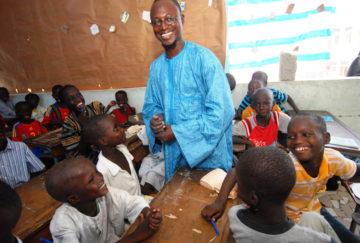 Primary school teacher in Senegal