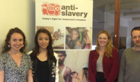 Thanks to Eleanor Mead (left) and Jayne Liu (second to left) with our Communications team.