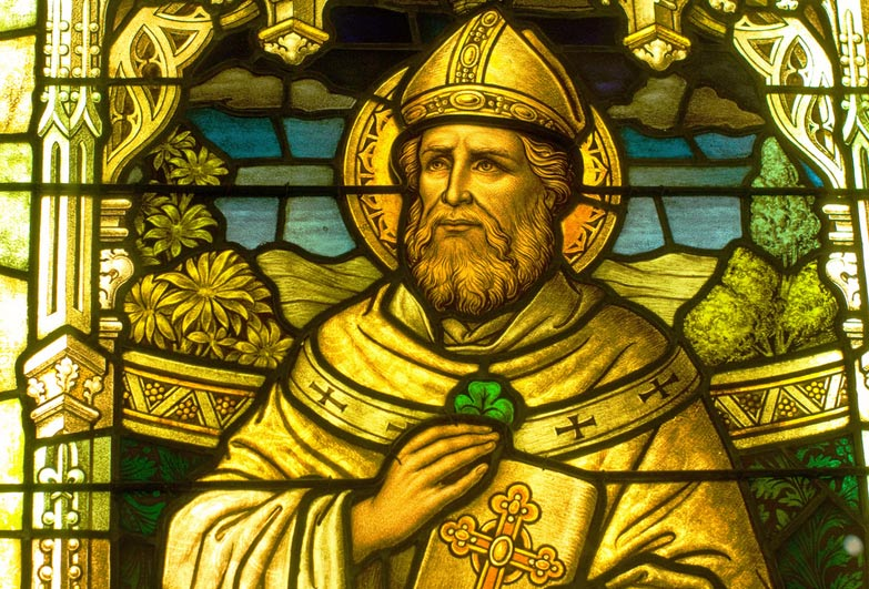 St Patrick former slave who became emblem of a country