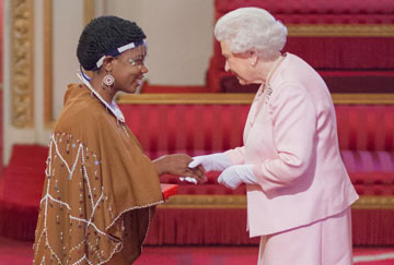 Domestic worker receives award from the Queen