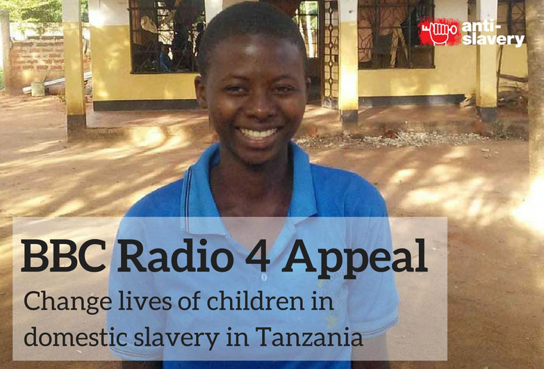 BBC Radio 4 Appeal to protect Tanzanian children from domestic slavery