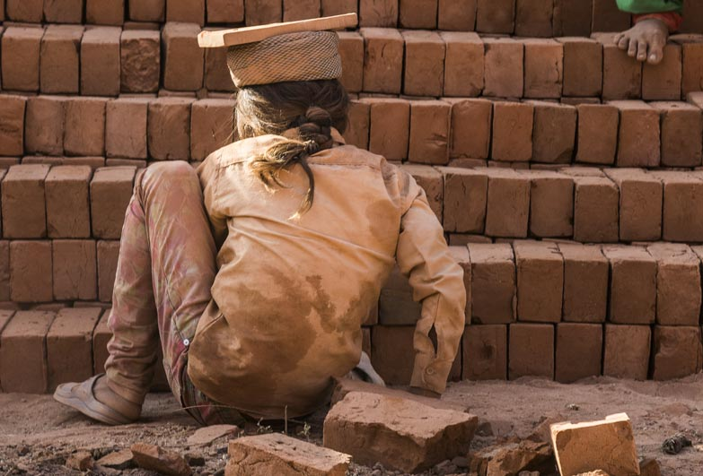 child slavery in India brick kiln industry