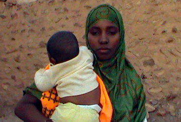 Mabrouka survivor of slavery in Mauritania