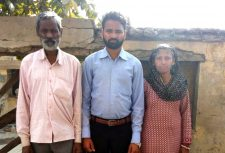Mohan victim of bonded labour in India
