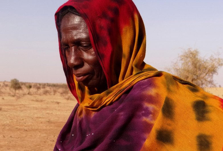 Woman freed from descent based slavery in Niger