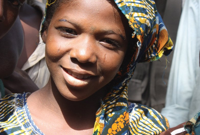 Niger young girl of slave descent