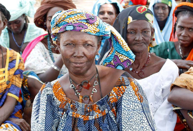 Women affected by descent based slavery in Niger