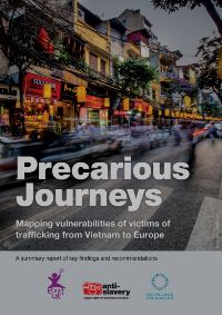 Precarious Journeys report cover