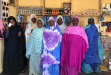 Women in shop Mauritania