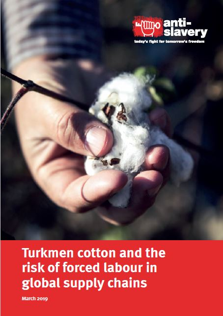 Turkmenistan cotton in global supply chains report