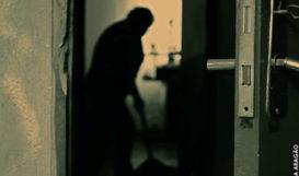 women domestic worker in dark room