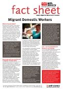 fact sheet about slavery and migrant domestic workers