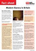 slavery in UK fact sheet