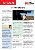modern slavery fact sheet