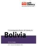 Bolivia report cover