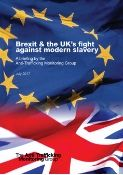 brexit and the UKs fligt against modern slavery report cover