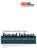 forced labour in Europe report cover