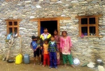 Bonded labour worker in India brick kiln