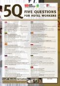poster for hotel workers