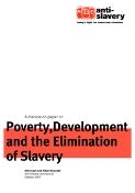 poverty, development and the elimination of slavery report cover
