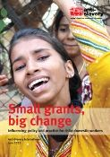 small grants big changes report cover