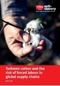turkmen cotton and forced labour report cover
