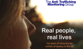 ATMG 10 year of advocacy for victims of slavery