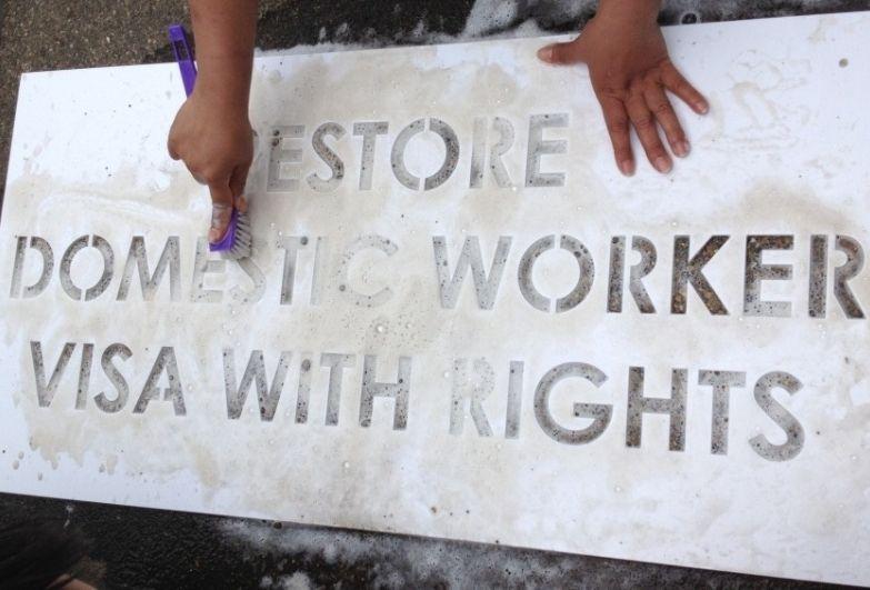 domestic worker