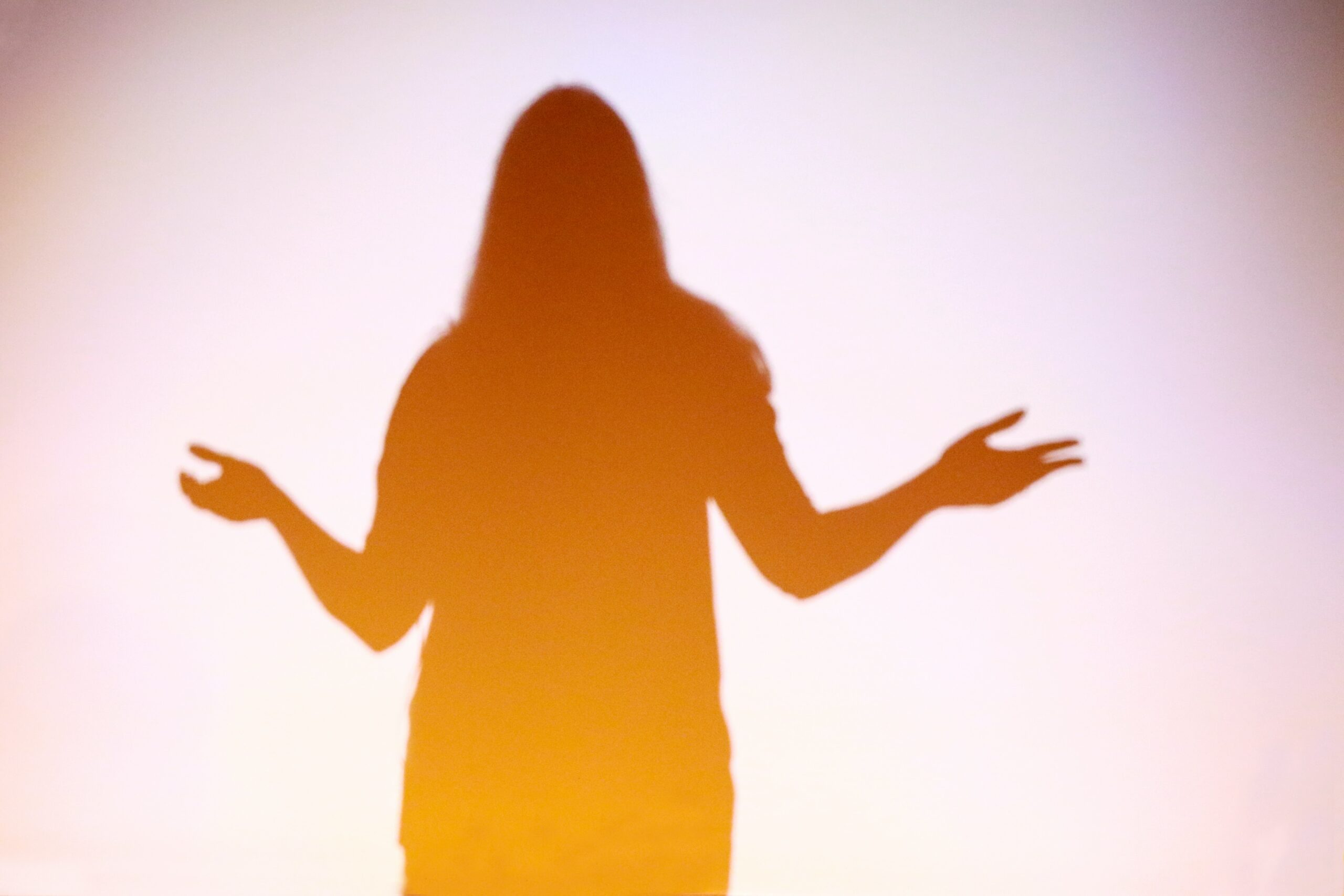 Shadow of a women